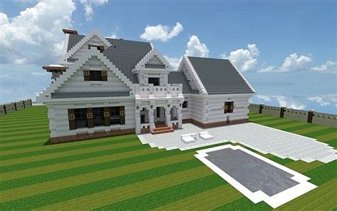 minecraft great house designs georgian home minecraft house design