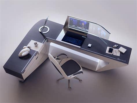 futuristic computer desk superb futuristic 3d sci fi art by encho enchev concept
