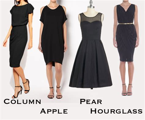 dresses for your body shape the perfect little black dress for your body shape
