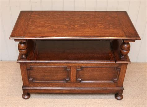 monks bench uk solid oak monks bench 442077 sellingantiques co uk
