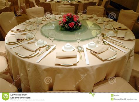 banquet table setup wedding banquet table setting royalty free stock photos
