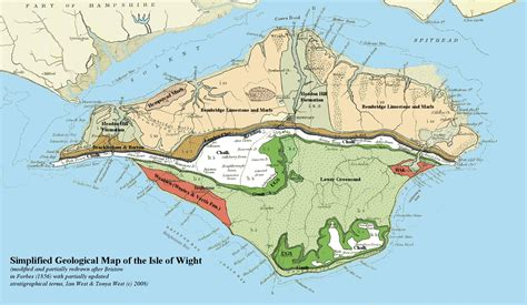 map of the valley isle 9th edition reference maps of the islands of hawai i books isle of wight brighstone bay and compton bay geological