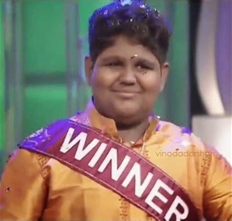 vaishnavs winning  surya singer  indian idol junior