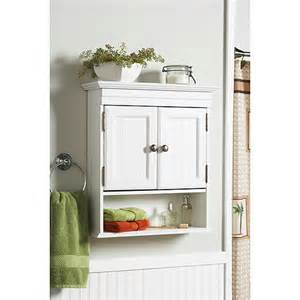 walmart bathroom wall cabinet better homes and gardens 6215wwwm cottage wall storage