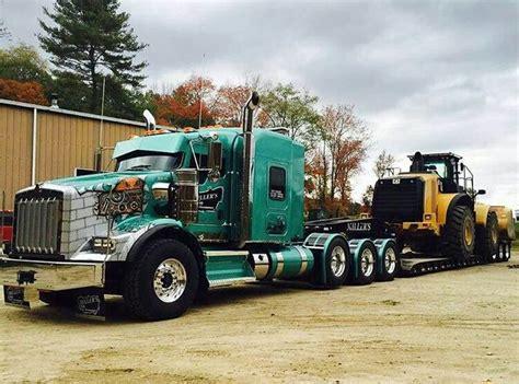 kenworth heavy haul trucks semitrckn kenworth custom t800 heavy haul 18 wheels