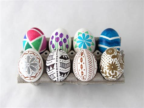 how to decorate eggs how to decorate easter eggs with permanent marker how