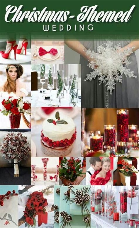 christmas themed wedding ideas wedding dreams pinterest