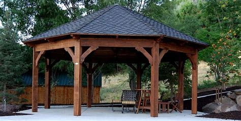 backyard gazebo kits america s premier timber framing company pergola kits