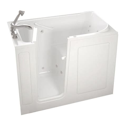 home depot walk in bathtub american standard gelcoat standard series 48 in x 28 in