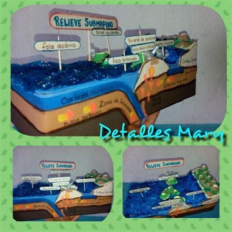 trabajo de maquetas de costas maquetas escolares relieve maqueta relieve submarino geography pinterest