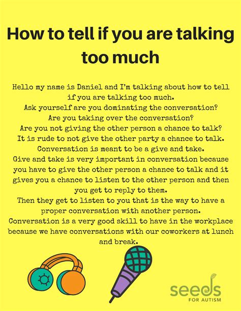 how to know how much to ask for your used car how to tell if you are talking too much seeds for autism blog