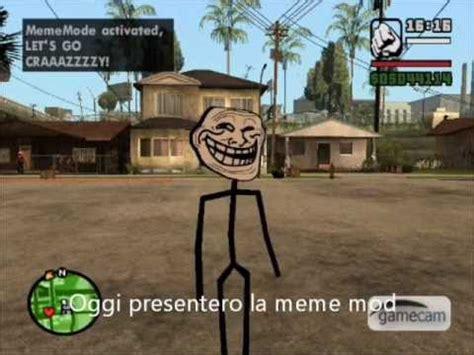 What Sa Meme - gta san andreas meme mod ita youtube