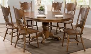 oval dining room set oak oval dining room set from coaster 104270