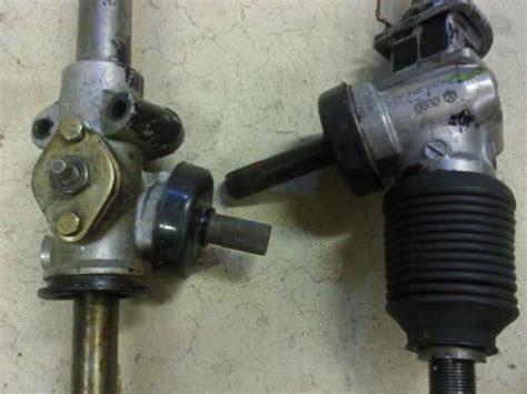 944 manual steering rack on a 924 pelican parts