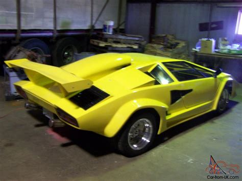 lamborghini countach replica lamborghini countach replica tube frame 455 olds
