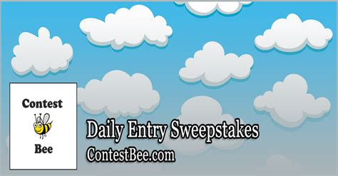 Daily Sweepstakes Online - daily entry sweepstakes contestbee com