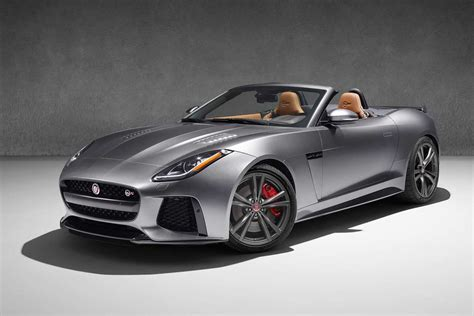 jaguar j type 2017 jaguar f type svr coupe and convertible launched in india