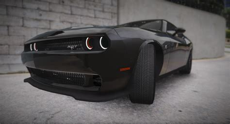 In Hellcat dodge challenger hellcat 2016 add on replace gta5 mods