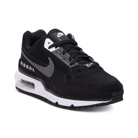 nike air max ltd running sneakers in black for lyst