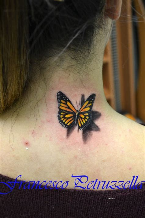tattoo 3d farfalla farfalla realistica by body art tattoo studio