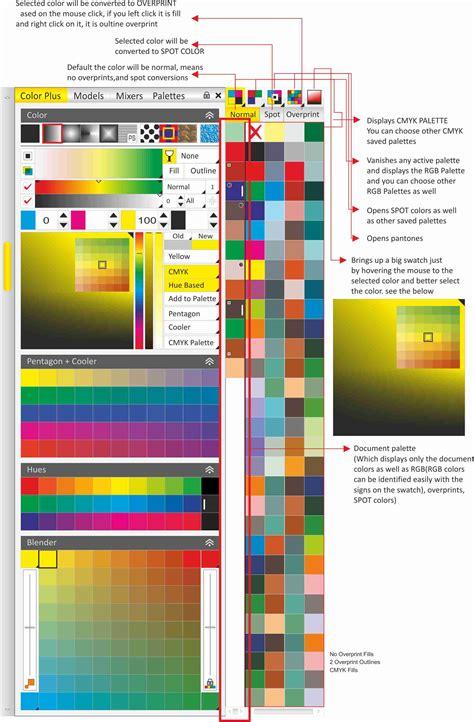 corel draw x5 background color document palette colors coreldraw graphics suite x5