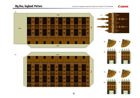 Big Ben Papercraft - calam 233 o paper craft