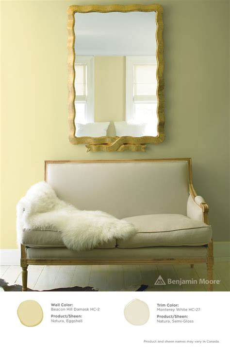benjamin moore beacon hill damask interiors color