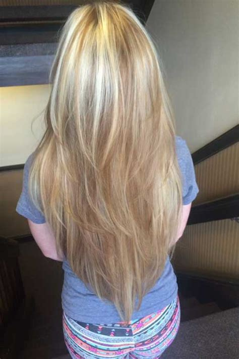 haircuts for long hair v shape v shape long haircuts all ladies should see long