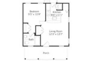 wonderful 2 bedroom apartments under 800 #4: classic-modern-house