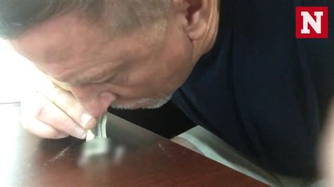 is snorting of miami dolphins coach chris foerster snorting white powder investigation