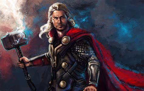 Film Fantasy Z Chrisem Hemsworthem   images thor chris hemsworth heroes comics men war hammer