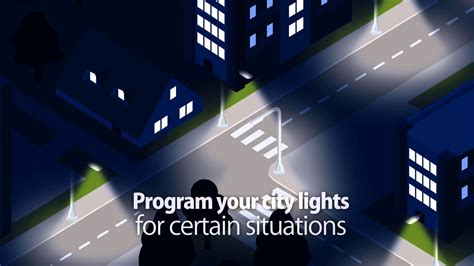 how do smart light bulbs work smart street lighting control system youtube