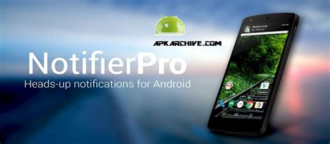 heads up apk apk mirror notifierpro heads up v11 3 apk