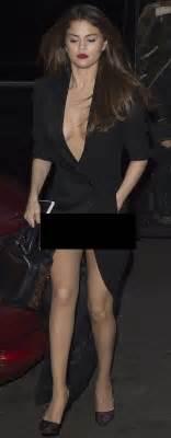 pix selena gomez wardrobe malfunction showbiz bites