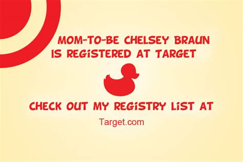 Target Baby Registry Insert Cards Template by Target Baby Shower Cimvitation