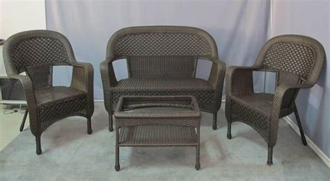 patio furniture wicker patio furniture sets clearance