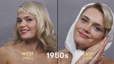 what are the current hairstyles in germany dazzling looks from 100 years of beauty in germany
