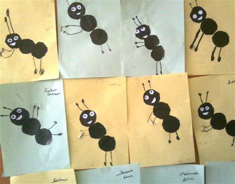 ant craft for preschool crafts and worksheets