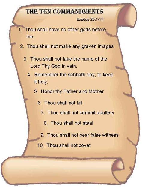 printable version of the bible printable bible ten commandments stone vs graham