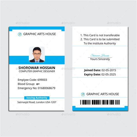vertical badge template graphicriver id card holder mockup
