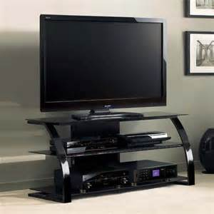 tv stands for 55 inch bello high gloss black 55 inch tv stand with black glass