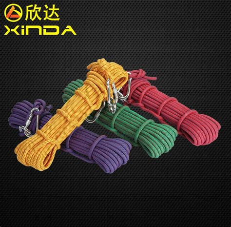 Ntr Tali Rappeling Safety Climbing Rope 10 Meter outdoor 10 5mm paracord parachute cord brand new rappelling rope climbing safety rope lanyard