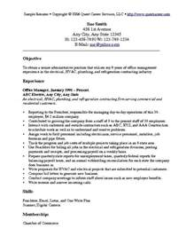 General Objective For Resume Exles by General Resume Objective Exles Berathen