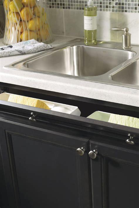 thomasville sink base  tilt  drawer front