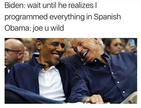 Biden Obama Trump Memes - memes of joe biden and obama s imagined trump prank conversations observer joe biden memes