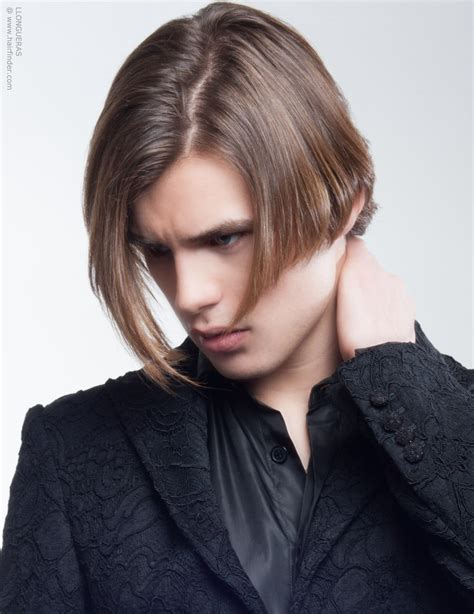 male bob hairstyle almost bob cut for men