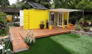 storage container home from the home front tiny cargo container house is sunset