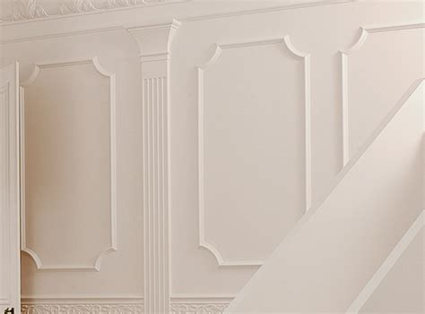 Decorative Wall Paneling | chair rail decorative chair rail and panel molding