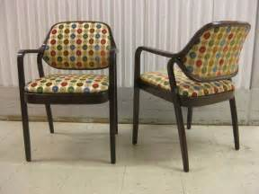 Knoll Dining Chairs Pair Of Knoll Occasional Dining Chairs At 1stdibs