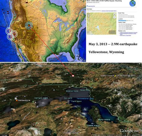 earthquake yellowstone 301 moved permanently